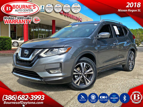 2018 Nissan Rogue for sale at Bourne's Auto Center in Daytona Beach FL