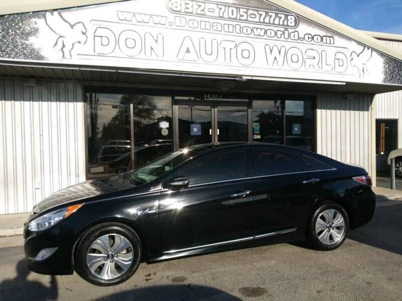 2015 Hyundai Sonata Hybrid for sale at Don Auto World in Houston TX