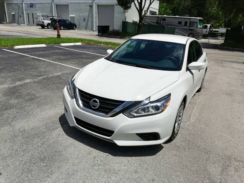 2017 Nissan Altima for sale at Best Price Car Dealer in Hallandale Beach FL