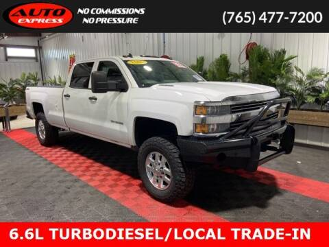 2015 Chevrolet Silverado 3500HD for sale at Auto Express in Lafayette IN