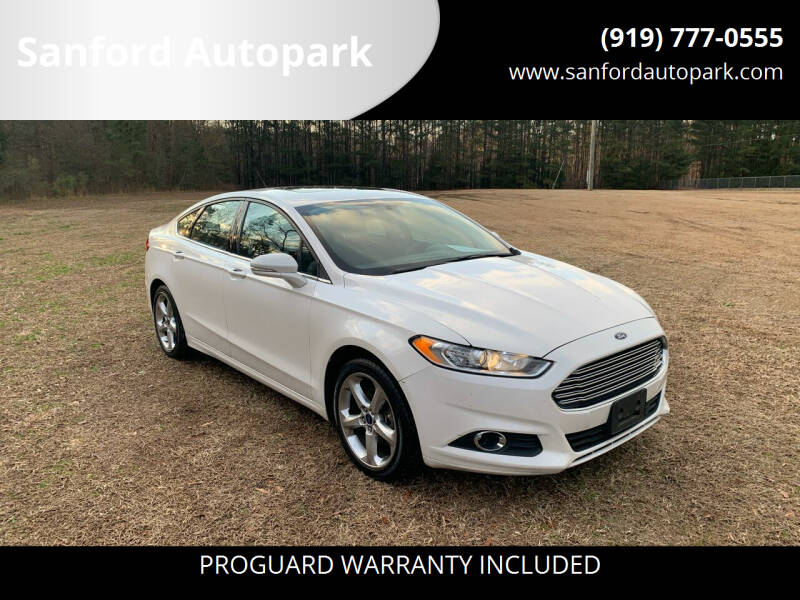 2016 Ford Fusion for sale at Sanford Autopark in Sanford NC