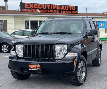 2008 Jeep Liberty for sale at Executive Auto in Winchester VA