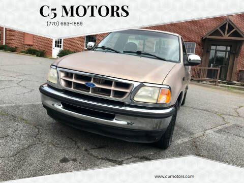 1997 Ford F-150 for sale at C5 Motors in Marietta GA