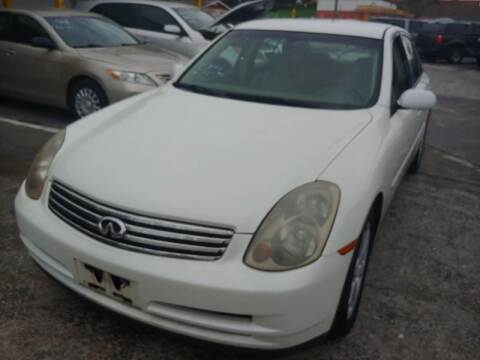 2003 Infiniti G35 for sale at Autos by Tom in Largo FL