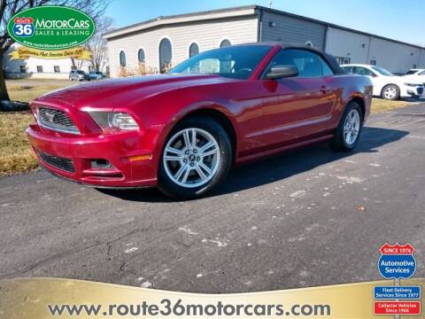 2014 Ford Mustang for sale at ROUTE 36 MOTORCARS in Dublin OH