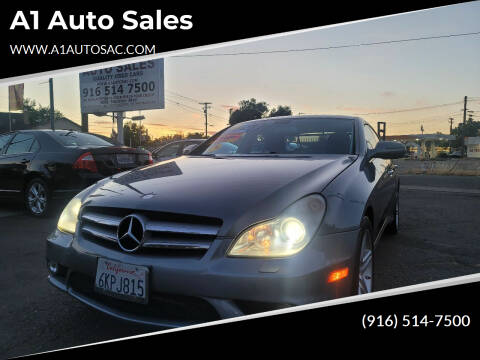 2010 Mercedes-Benz CLS for sale at A1 Auto Sales in Sacramento CA
