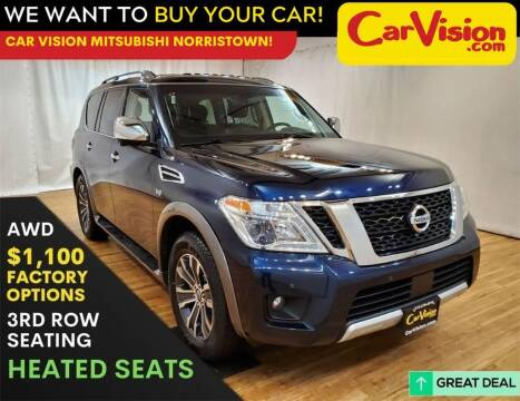 2017 Nissan Armada for sale at Car Vision Mitsubishi Norristown in Trooper PA