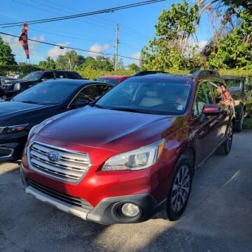 2017 Subaru Outback for sale at America Auto Wholesale Inc in Miami FL
