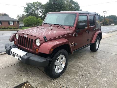2008 Jeep Wrangler Unlimited for sale at E Motors LLC in Anderson SC