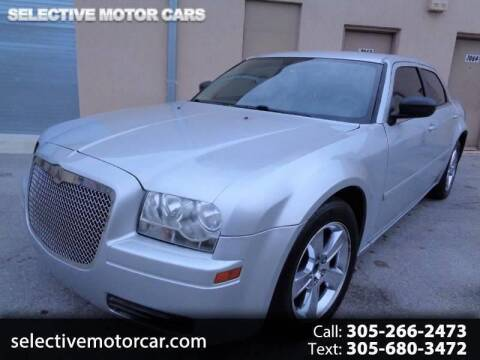 2005 Chrysler 300 for sale at Selective Motor Cars in Miami FL