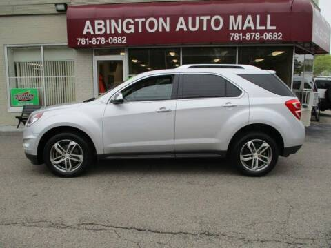 2017 Chevrolet Equinox for sale at Abington Auto Mall LLC in Abington MA