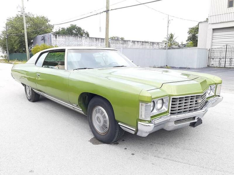 1971 Chevrolet Caprice for sale at Car Mart Leasing & Sales in Hollywood FL