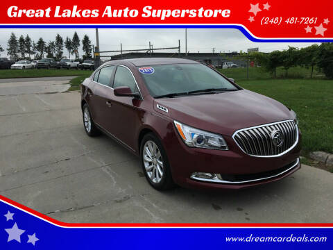 2015 Buick LaCrosse for sale at Great Lakes Auto Superstore in Pontiac MI
