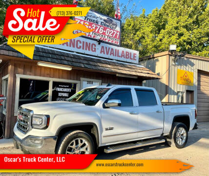 2017 GMC Sierra 1500 for sale at Oscar's Truck Center, LLC in Houston TX