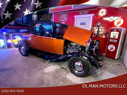 1929 Plymouth Coupe for sale at Ol Man Motors LLC in Louisville OH