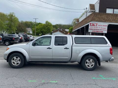 2008 Nissan Frontier for sale at TNT Auto Sales in Bangor PA