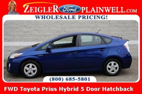 2011 Toyota Prius for sale at Zeigler Ford of Plainwell- Jeff Bishop in Plainwell MI
