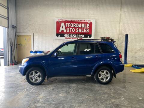 2002 Toyota RAV4 for sale at Affordable Auto Sales in Humphrey NE