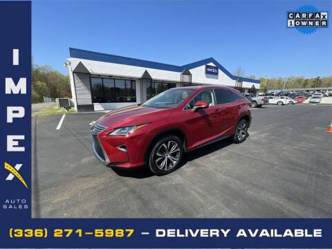 2018 Lexus RX 350 for sale at Impex Auto Sales in Greensboro NC