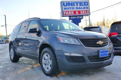 2013 Chevrolet Traverse for sale at United Auto Sales in Anchorage AK