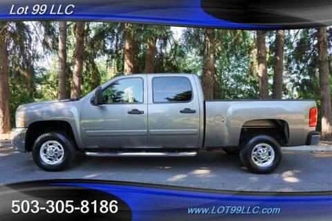 2007 Chevrolet Silverado 2500HD for sale at LOT 99 LLC in Milwaukie OR