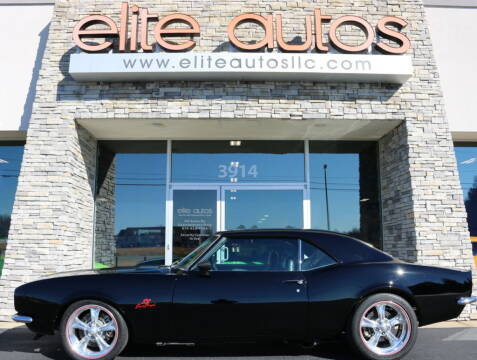 1968 Chevrolet Camaro SS Restomod for sale at Elite Autos LLC in Jonesboro AR