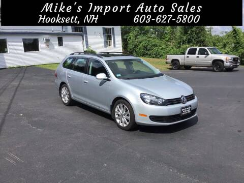 2012 Volkswagen Jetta for sale at Mikes Import Auto Sales INC in Hooksett NH