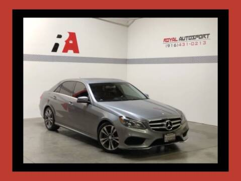 2014 Mercedes-Benz E-Class for sale at Royal AutoSport in Sacramento CA
