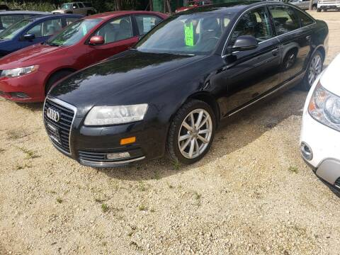 2009 Audi A6 for sale at Northwoods Auto & Truck Sales in Machesney Park IL