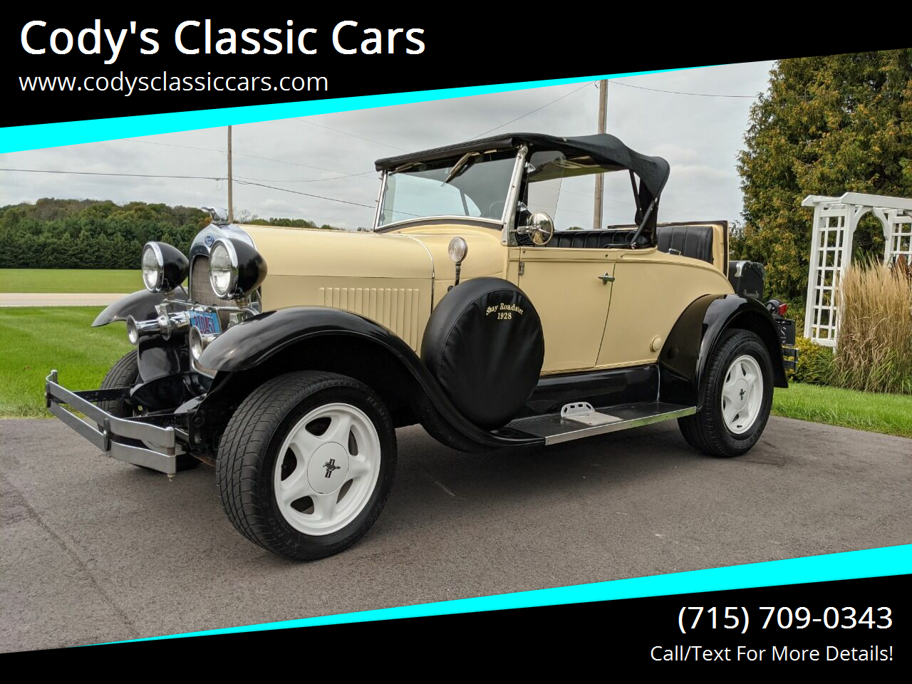 1928 Ford Shay Model A Reproduction