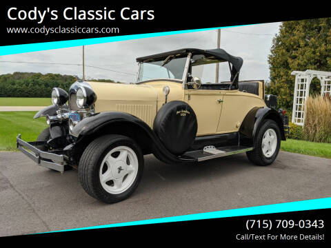 1928 Ford Shay Model A Reproduction for sale at Cody's Classic Cars in Stanley WI