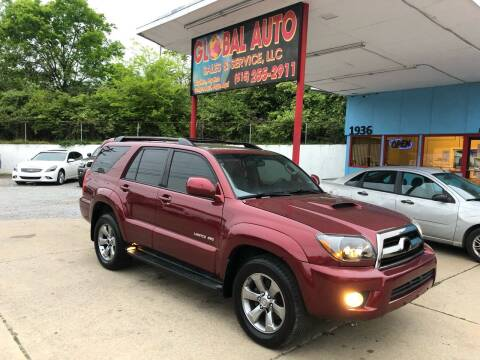 2008 Toyota 4Runner for sale at Global Auto Sales and Service in Nashville TN