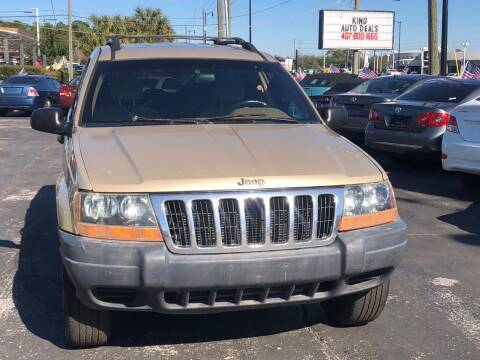 2000 Jeep Grand Cherokee for sale at King Auto Deals in Longwood FL