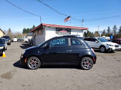 2013 FIAT 500 for sale at Ron's Auto Sales in Hillsboro OR