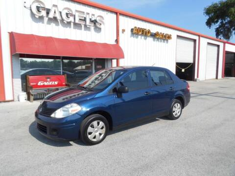 2009 Nissan Versa for sale at Gagel's Auto Sales in Gibsonton FL