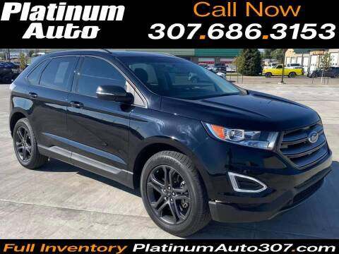 2018 Ford Edge for sale at Platinum Auto in Gillette WY