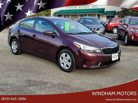 2018 Kia Forte for sale at Windham Motors in Florence SC
