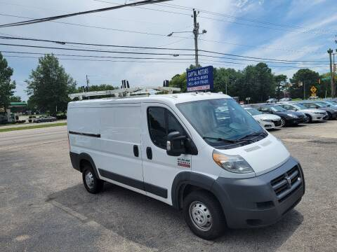 2016 RAM ProMaster Cargo for sale at Capital Motors in Raleigh NC