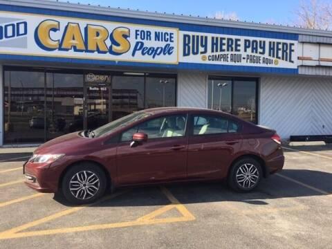 2014 Honda Civic for sale at Good Cars 4 Nice People in Omaha NE