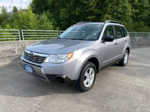 2010 Subaru Forester for sale at Zipstar Auto Sales in Lynnwood WA