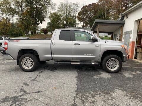 2014 Toyota Tundra for sale at GRAHAM'S AUTO SALES & SERVICE INC in Ephrata PA