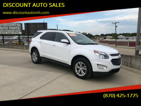2017 Chevrolet Equinox for sale at DISCOUNT AUTO SALES in Mountain Home AR