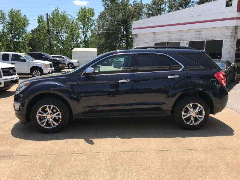 2016 Chevrolet Equinox for sale at Northwood Auto Sales in Northport AL