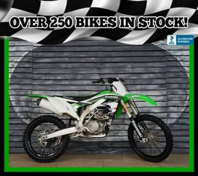 2016 Kawasaki KX450 for sale at Motomaxcycles.com in Mesa AZ