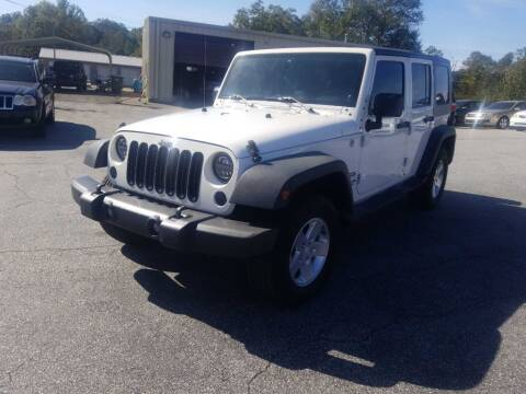 2010 Jeep Wrangler Unlimited for sale at Brewster Used Cars in Anderson SC