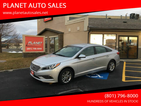 2015 Hyundai Sonata for sale at PLANET AUTO SALES in Lindon UT