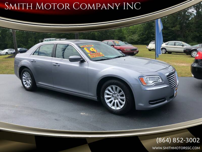 2014 Chrysler 300 for sale at Smith Motor Company INC in Mc Cormick SC