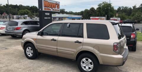 2006 Honda Pilot for sale at Moye's Auto Sales Inc. in Leesburg FL