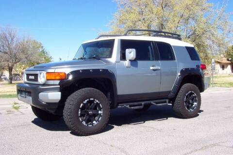 2010 Toyota FJ Cruiser for sale at Park N Sell Express in Las Cruces NM