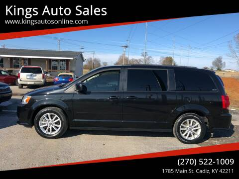 2016 Dodge Grand Caravan for sale at Kings Auto Sales in Cadiz KY